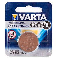 Батарейка VARTA CR2450, 3V, 560 мАч, Professional Electronics (1 шт.)