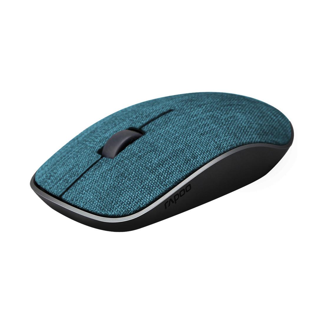 Компьютерная мышь Rapoo 3510 Plus (Беспроводной, Blue)