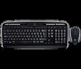 Клавиатура+мышь Logitech Wireless Combo MK330 (Беспроводная, Black)
