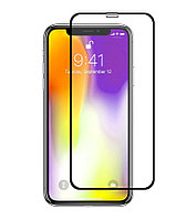 Защитное стекло Full screen PowerPlant для Apple iPhone XS, Black