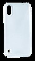 Силиконовый чехол для Samsung Galaxy A01 (прозрачный)