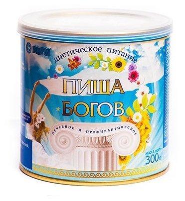"""Коктейль соево-белковый """"Пища богов"""" 300гр клубника"""