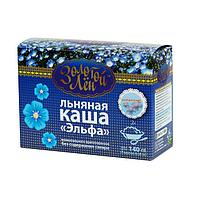 """Золотой лен"" Каша льняная ""Эльфа"" натуральная - 7 пакетов по 20 г"