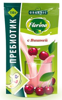 Молочный коктейль обогащенный пребиотик со вкусом вишни 150 гр