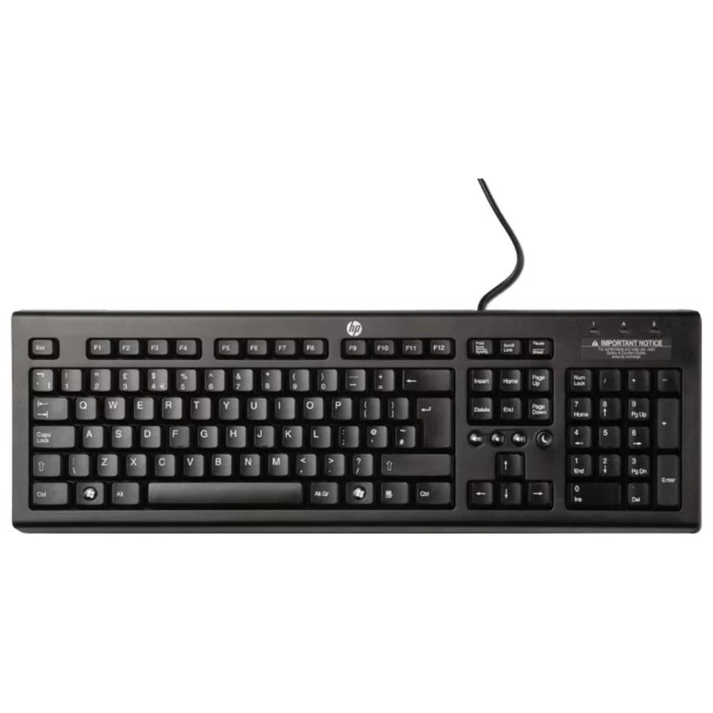 Клавиатура HP Classic Wired WZ972AA (Black)