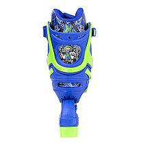 Роликовые коньки MIQI SKY набор (синие-размер 34-38) M, фото 3