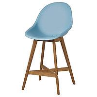 Барный стул ФАНБЮН голубой 64 см ИКЕА, IKEA