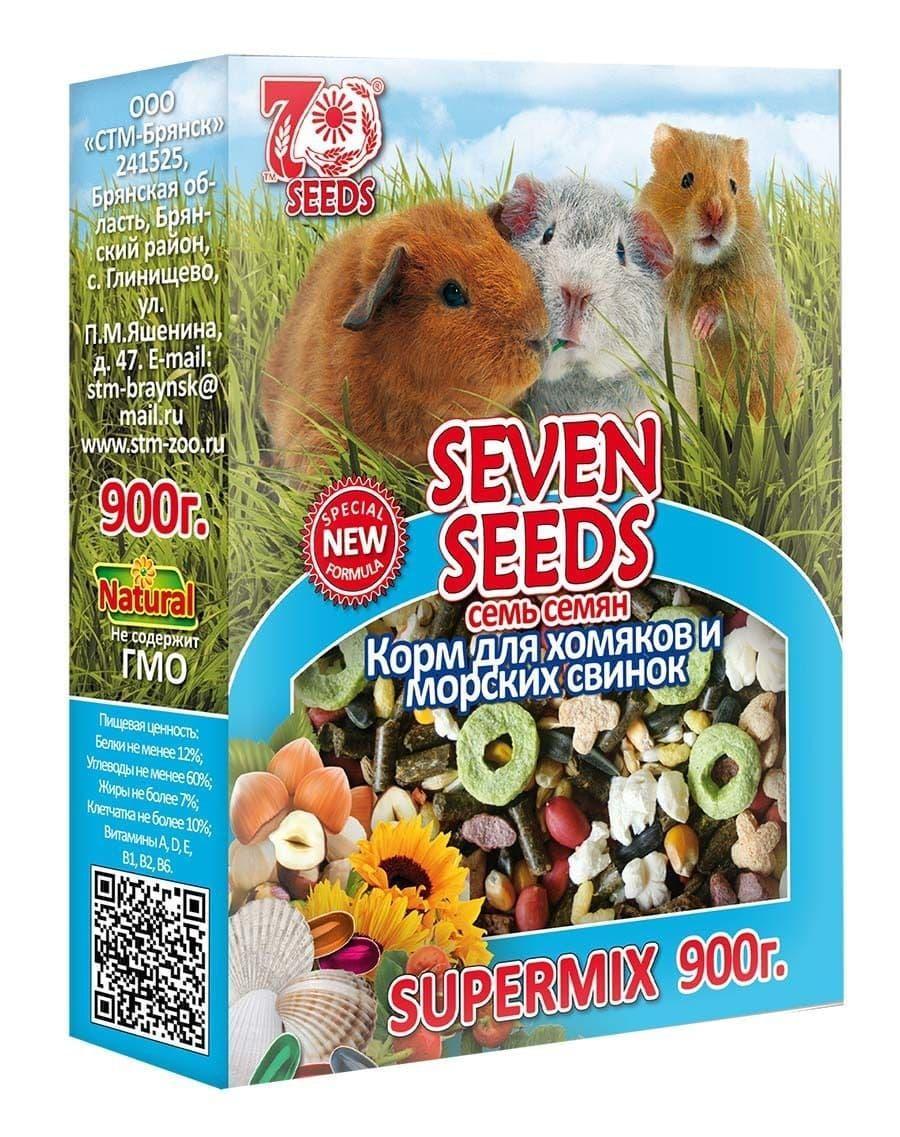 Корм Seven Seeds для хомяков и морских свинок - 900 г