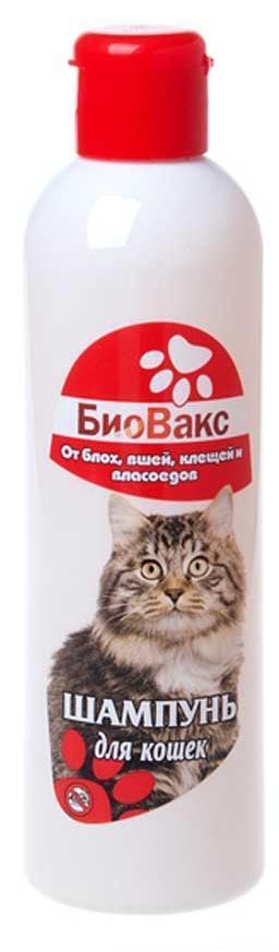 Шампунь инсектицидный БиоВакс для кошек - 200 мл