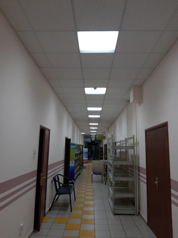Освещение Центральной библиотеки.