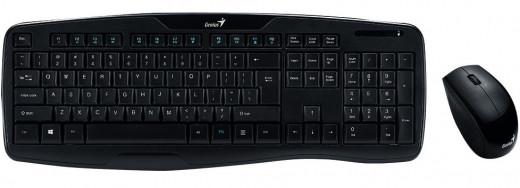 Клавиатура + мышка Genius KB-8000X (Black)