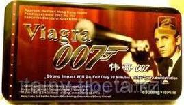 Таблетки для потенции Виагра Агент 007