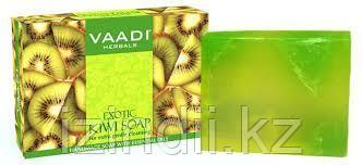 Экзотическое Мыло «Киви» с отшелушивающим эффектом Vaadi Herbals, Индия