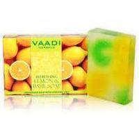 Освежающее мыло с лимоном и базиликом.VAADI herbals