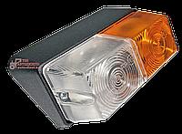Фонарь ПФ-204 передний правый корпус алюминий (МТЗ, ЮМЗ, Т-16, Т-25, Т-40), фото 1