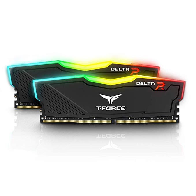 Оперативная память DDR4 PC-21300 (2666 MHz) 16Gb (8GB*2) TEAM DELTA RGB