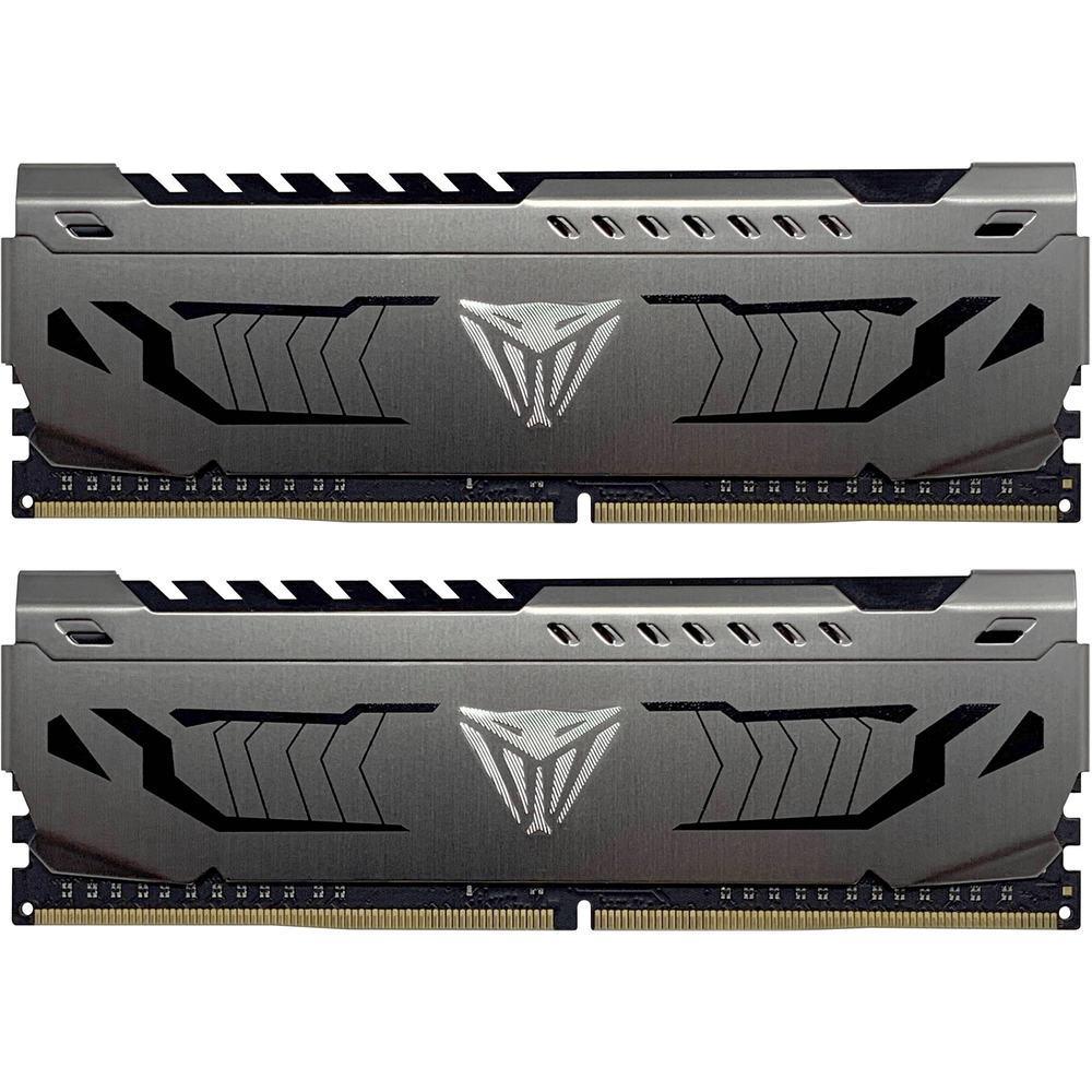 Оперативная память DDR4 PC-25600 (3200 MHz) 16Gb (8GB*2) PATRIOT VIPER STEEL