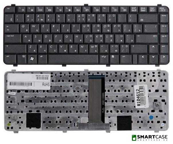 Клавиатура для ноутбука HP Compaq 6530S (черная, RU)