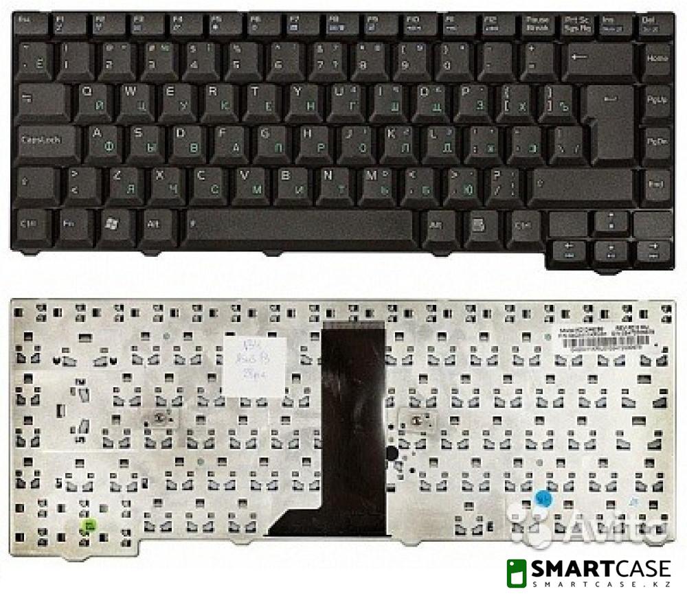 Клавиатура для ноутбука Asus F3 (черная, RU)