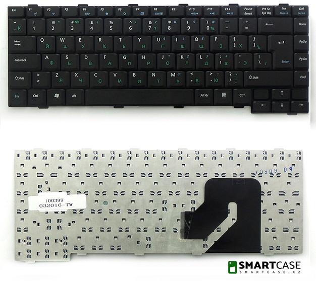 Клавиатура для ноутбука Asus W2 (черная, RU)