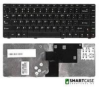Клавиатура для ноутбука Lenovo IdeaPad U450 (черная, RU)