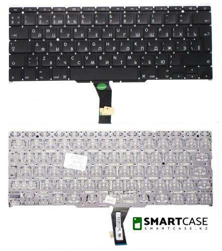 Клавиатура для ноутбука Apple MacBook PRO A1502 (черная с подсветкой, RU)