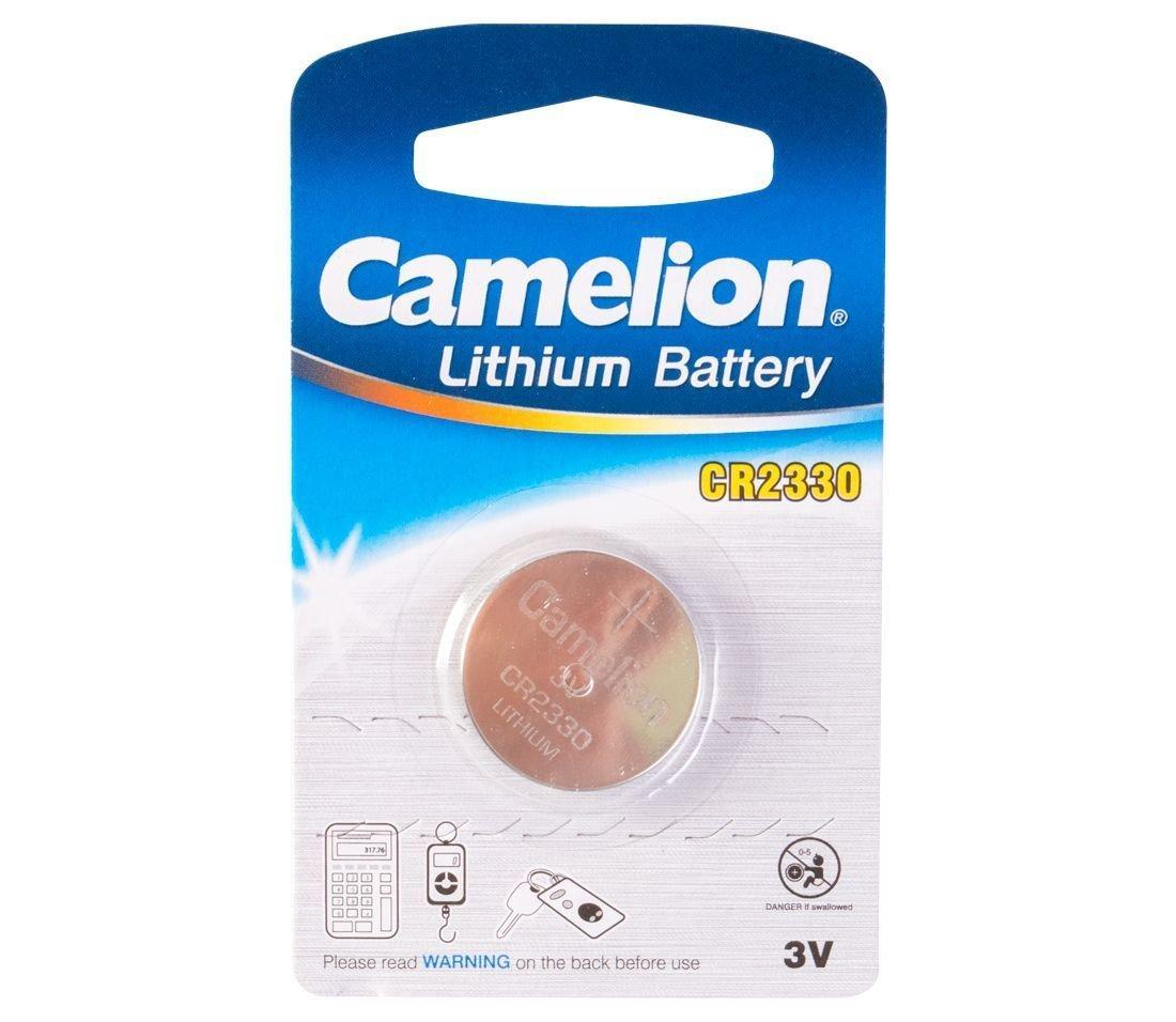 Батарейка Camelion CR2330-BP1 Lithium Battery 3V, 220 mAh (1 шт.)