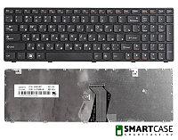 Клавиатура для ноутбука Lenovo IdeaPad Z580, V580, G580 (черная, RU)