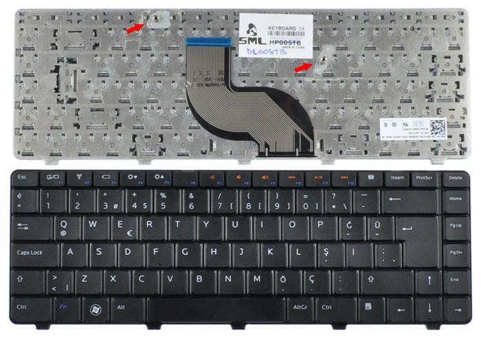 Клавиатура для ноутбука DELL Inspiron N5020
