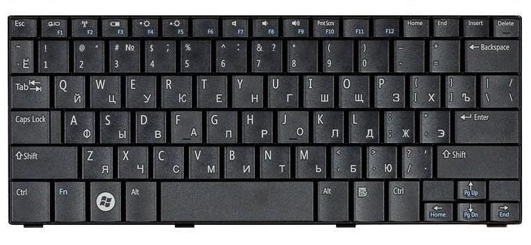 Клавиатура для ноутбука DELL Inspiron W664N