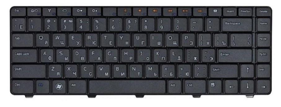 Клавиатура для ноутбука DELL Inspiron YTYM3