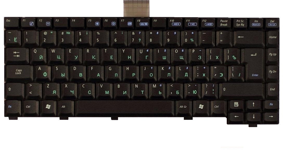 Клавиатура для ноутбука Asus M6N