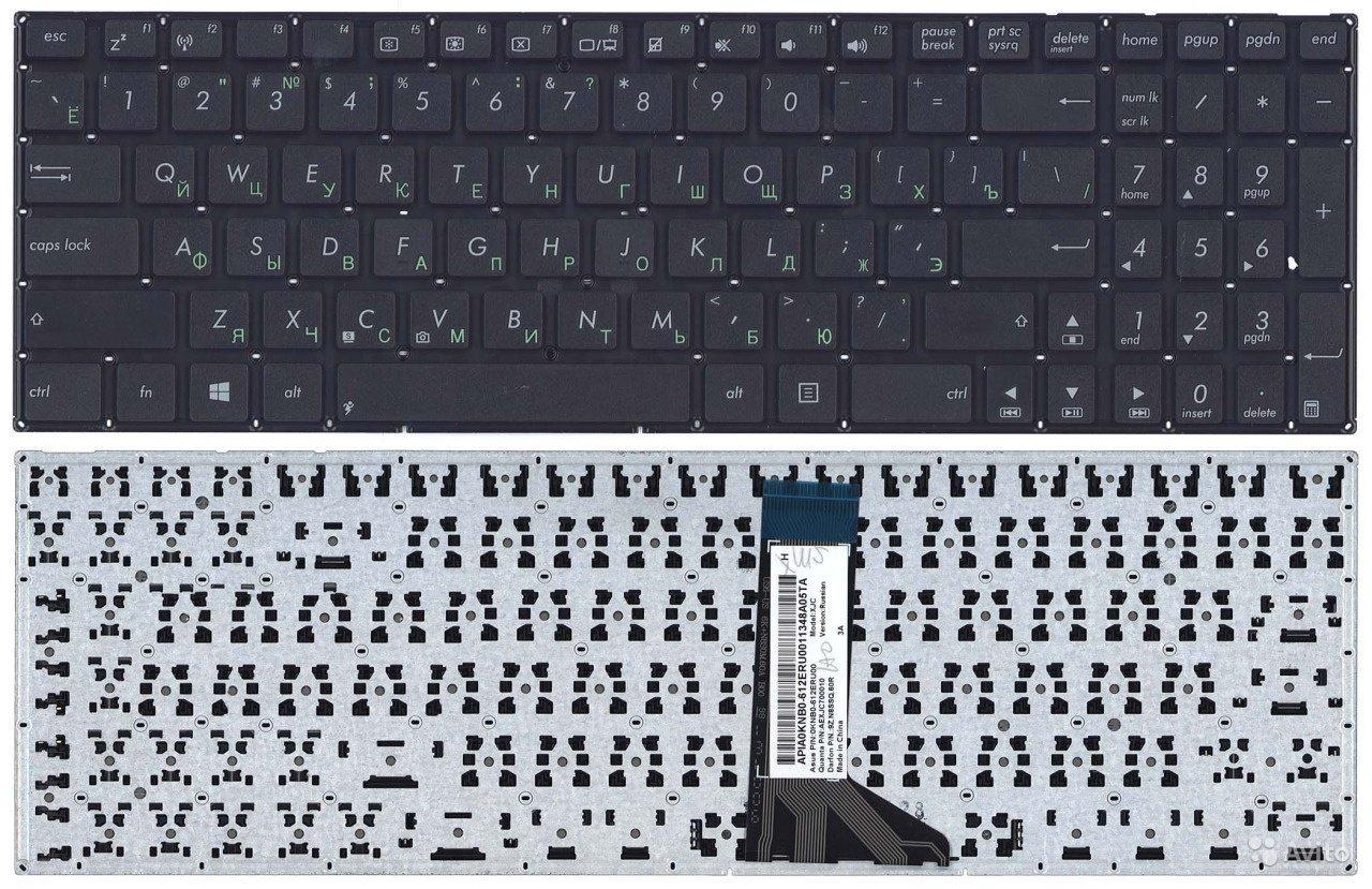 Клавиатура для ноутбука Asus F555 F555L
