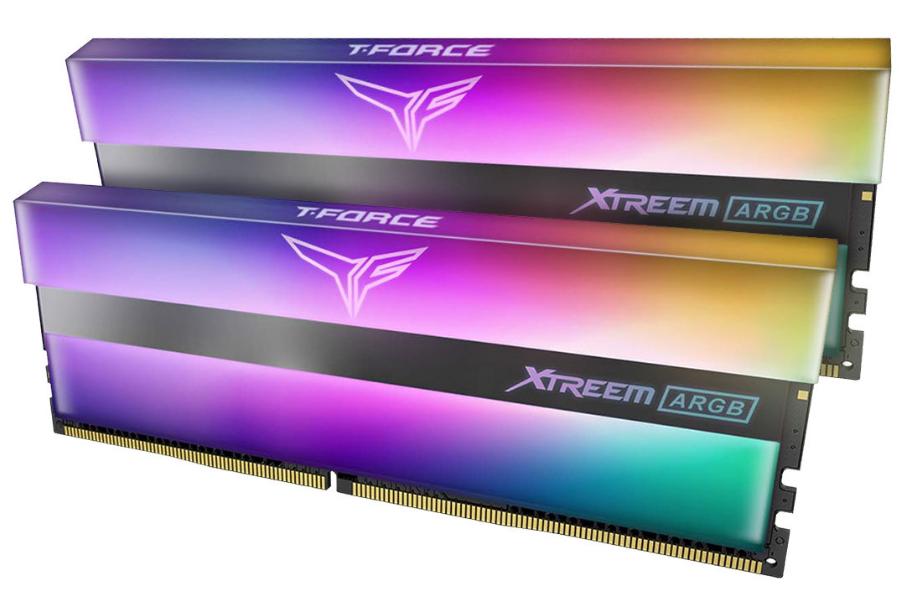 Оперативная память DDR4 (3600 MHz) 16Gb (8GB*2) TEAM XTREEM ARGB v2