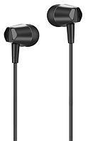 Наушники Hoco M34 (черный, пульт/микрофон), фото 1