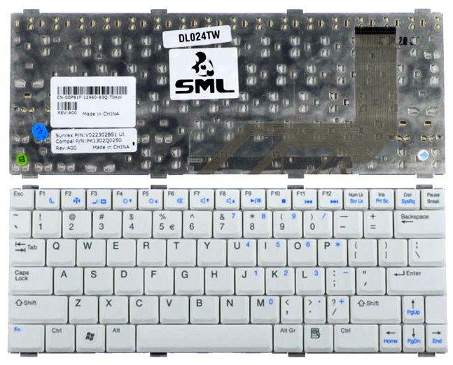 Клавиатура для ноутбука DELL Vostro RM612