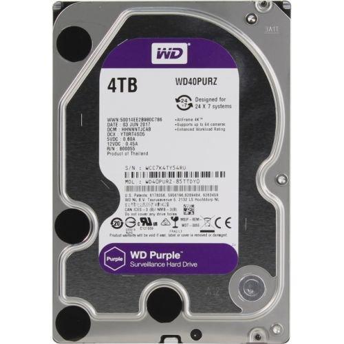"""Жесткий диск HDD 4000 Gb Western Digital  SATA III (WD40PURZ) (3.5"""")"""