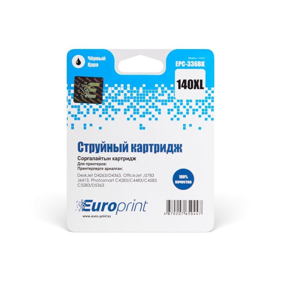 Картридж струйный Europrint EPC-336BK (№140xl) Black