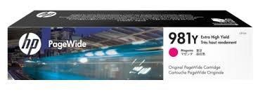 Картридж струйный HP 981Y (L0R14A) PageWide Magenta