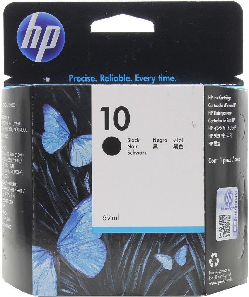 Картридж струйный HP C4844A (№10) Black