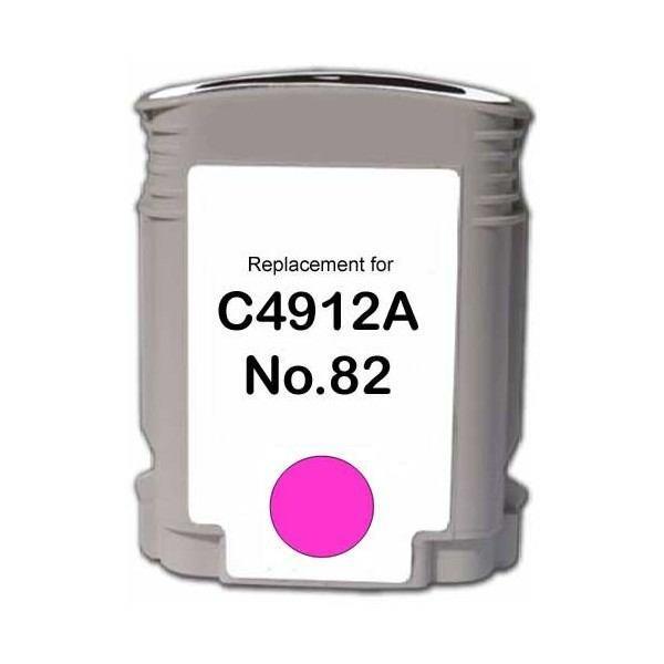 Картридж струйный JET TEK для HP C4911A (№82) Cyan
