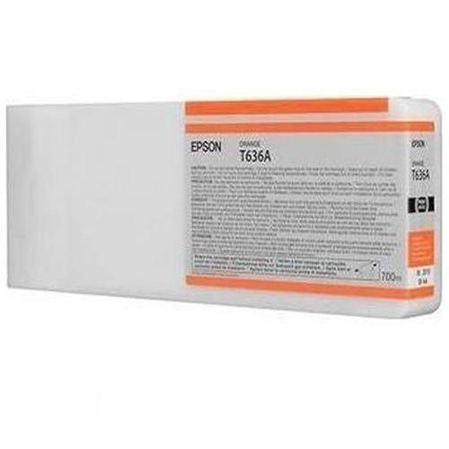Картридж струйный Epson C13T636A00 Orange