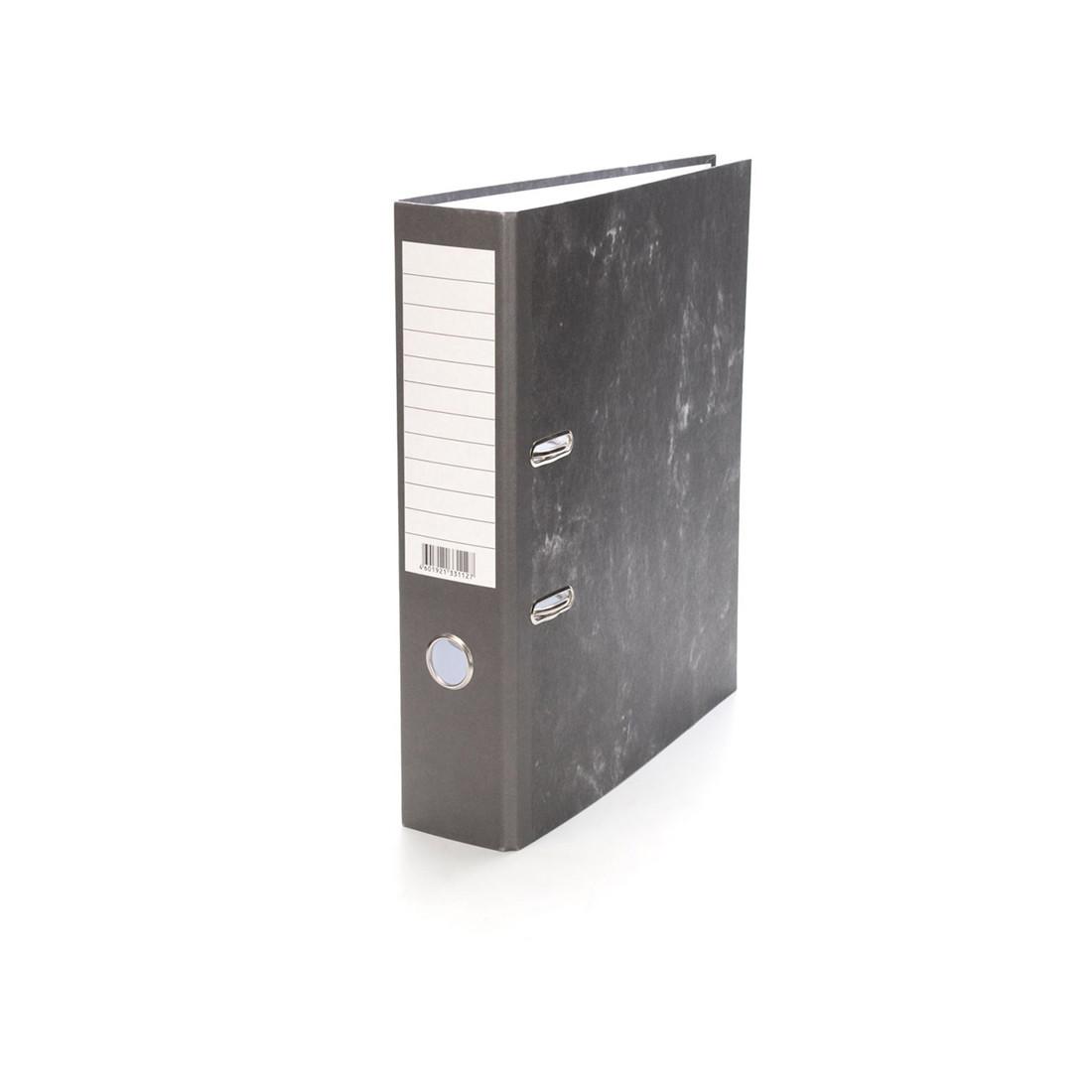 Папка–регистратор с арочным механизмом ErichKrause Economy (70 мм, А4, Серый)