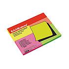 Бумага для заметок с клеевым краем ErichKrause Neon (40х50 мм, 200 листов, 4 цвета)
