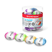 Пластиковая точилка ErichKrause S-Twist (Ассорти)