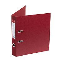 Папка–регистратор с арочным механизмом Deluxe Office 2-RD24 (50 мм, А4, Красный), фото 1