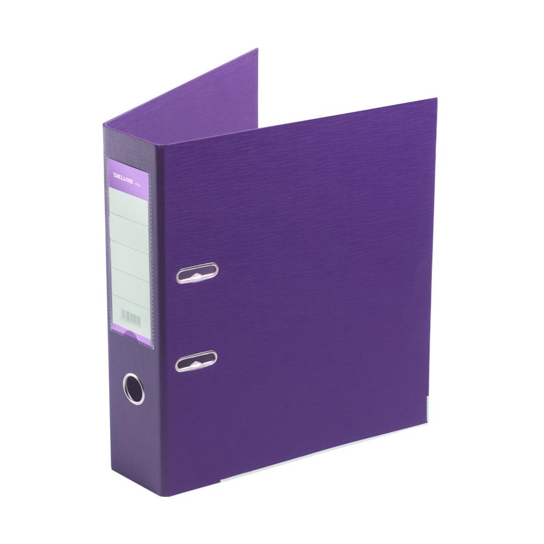 Папка–регистратор с арочным механизмом Deluxe Office 3-PE1 (70 мм, А4)