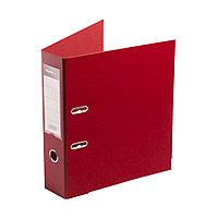 Папка–регистратор с арочным механизмом Deluxe Office 3-RD24 (70 мм, А4, Красный), фото 1