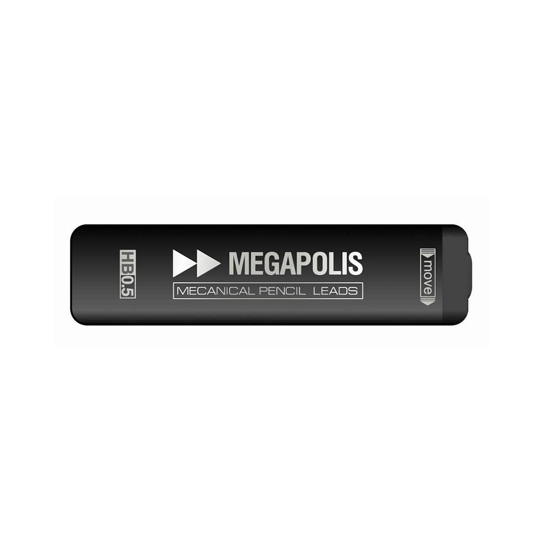 Футляр грифелей для механических карандашей ErichKrause MEGAPOLIS Concept