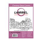 Обложки картонные глянцевые Lamirel LA-78689 Chromolux A4 (Белый, 100шт)